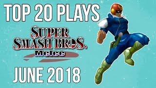 Video Top 20 SSBM Plays of June 2018 - Super Smash Bros. Melee download MP3, 3GP, MP4, WEBM, AVI, FLV Juli 2018