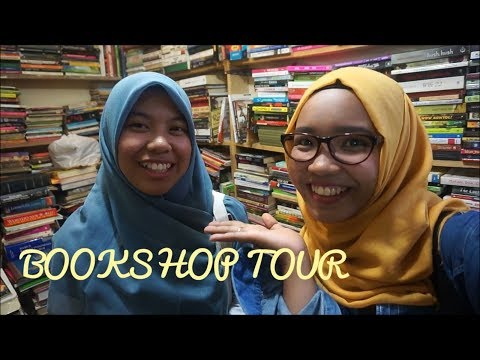 Bookshop Tour (Preloved Bookshop Blok M, Post Santa)