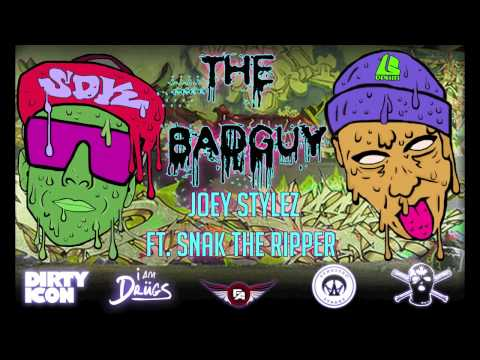 Joey Stylez featuring Snak The Ripper - The Badguy remix