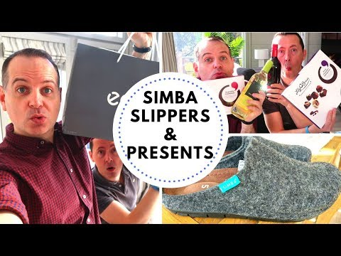 Simba Slippers & Mystery Bag of Presents | Vlog