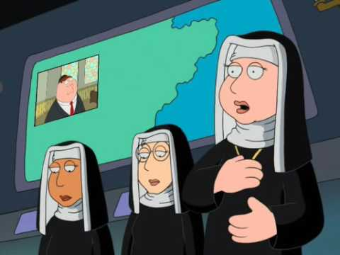 Family Guy - Peter in a synagogue
