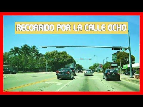 Miami Forida.2018..Recorrido por la Calle Ocho..