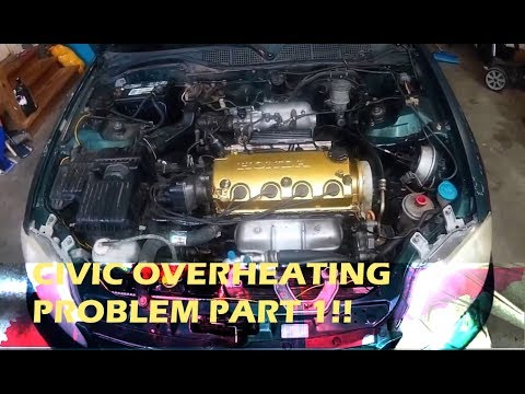2002 honda civic ex coupe overheating