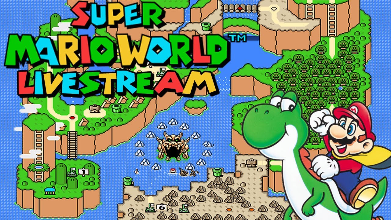 Super Mario World 100% Live Stream   YouTube