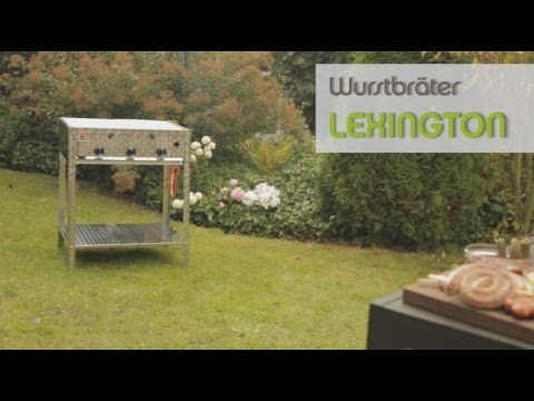 61x49cm Tepro Gasgrill Wurstbräter Tischgrill Lexington Typ 4 Grillfl