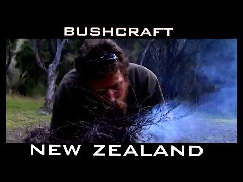 NEW ZEALAND BUSHCRAFT & SURVIVAL HUNT & FISH with JOSH JAMES episode 1