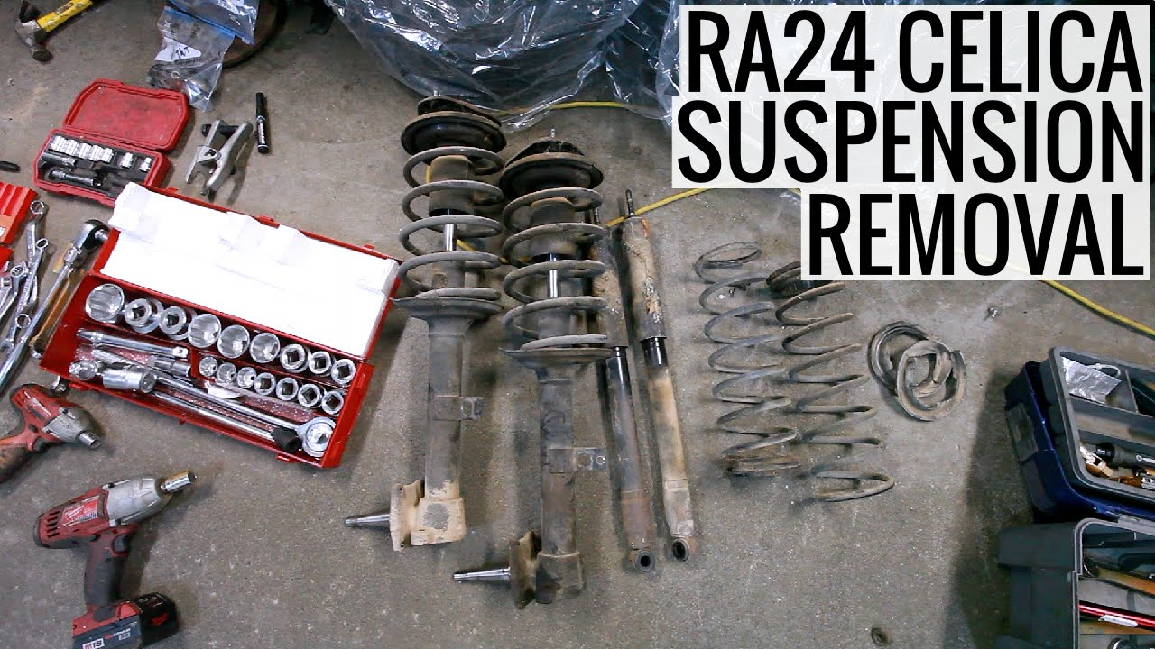 Ra24 Celica Wiring Diagram Schematics Diagrams Ra21 Toyota Suspension Removal Youtube