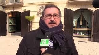 Ambientalisti in piazza per ribadire il no alla fonderia a Pianodardine