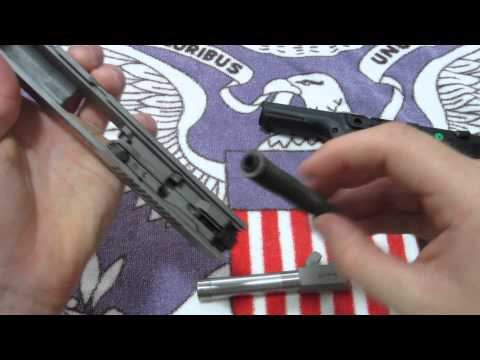 how to FIELD STRIP a 9mm RUGER SR9