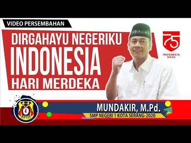 Dirgahayu Negeriku Indonesia Ke-75|SMP Negeri 1 Kota Serang 2020