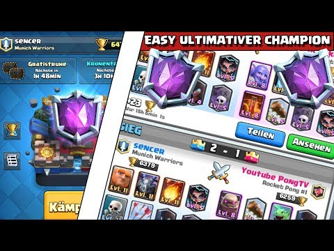 Easy Ultimativer Champion Sencer - Clash Royale