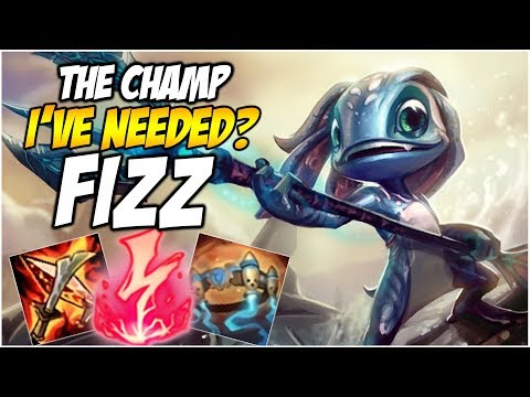THE CHAMP I'VE NEEDED? FIZZ | League of Legends