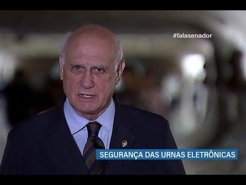#falasenador: Lasier Martins aborda a segurança das urnas eletrônicas e o voto impresso