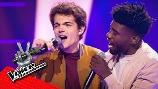 Bram vs Samuel - 'Señorita' | Battles | The Voice Van Vlaanderen | VTM