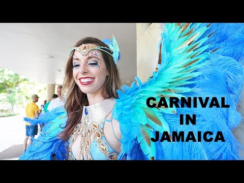 Carnival in Jamaica: Behind the scenes, costumes, and partie