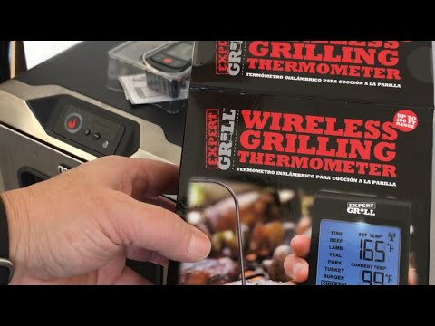 Expert Grill Wireless Grilling Thermometer Review #bbq # ...