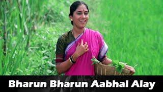 Bharun Bharun Aabhal Alay - Classic Marathi Song - Varsa Laxmicha Movie - Sukanya Kulkarni