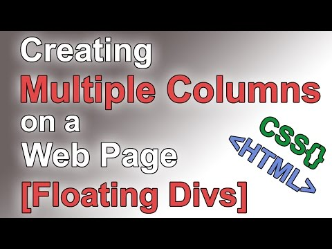 How to Build a Website #6 - Multiple Column Layout [CSS Tutorial]