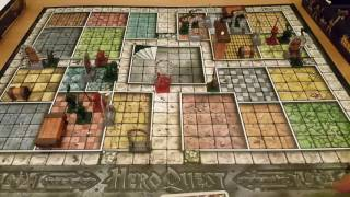 Let's play Hero Quest: Rules and review by Hit and Sunk Games