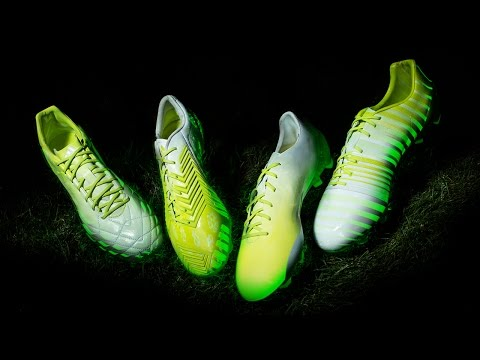 Close-up With The Adidas Hunt Pack - Glow In The Dark Boots!