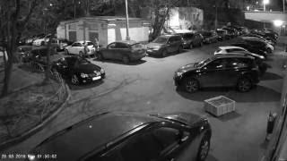 Кражи из автомобилей в центре Москвы 28.03.16 Ч.1