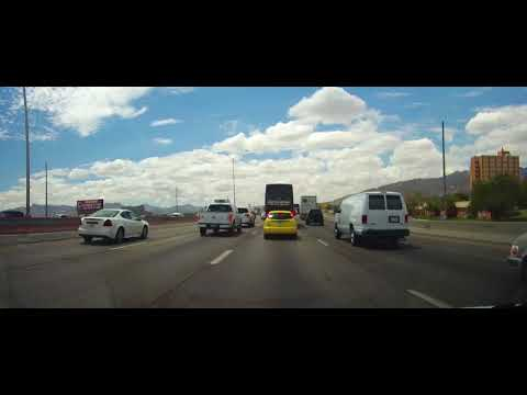 Driving around El Paso, Texas and into the mountains