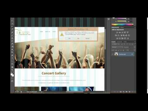 How To Convert  PSD In HTML With Adobe Photoshop (Urdu & Hindi)