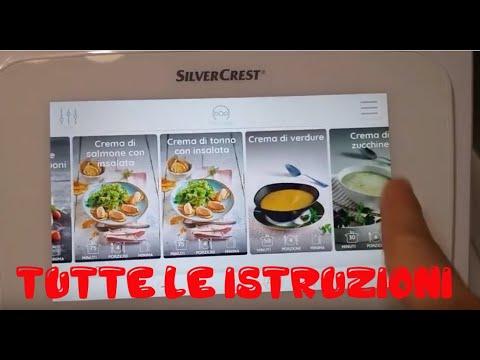 Monsieur Cuisine Connect  istruzioni e guida al funzionamento ricette
