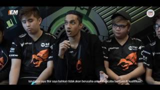 Interview TNC Dota Pro Player @Geforce Day Jakarta