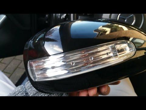 Spiegelblinker Tauschen Bei Mercedes C Klasse W203 Mopf Replace The Lighting Unit