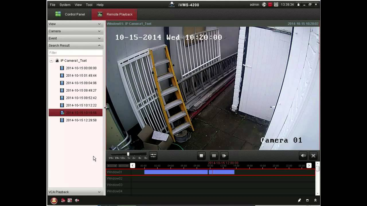 Hikvision Client Software Demonstration Youtube