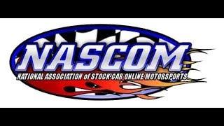 NASCOMonline eRacing League   Round 3 at Las Vegas