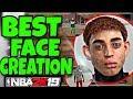Best Face Creation in NBA 2k19 - LOOK LIKE A DRIBBLE GOD