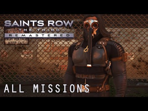 Saints Row: The Third Remastered - All Missions Full Game Walkthrough (Hardcore Difficulty)