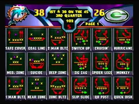 Blitz 2000 - Miami Dolphins vs Green Bay Packers
