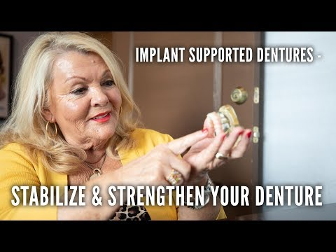 Stabilizing your dentures with dental implants