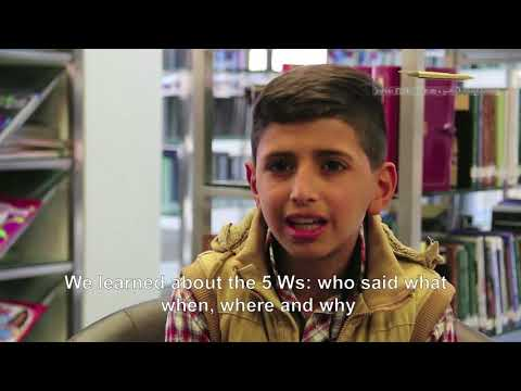 Media and Information Literacy clubs in a public school in Amman