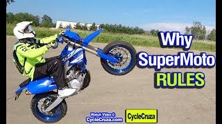 10 Reasons To Get a SUPERMOTO | MOTIVATION