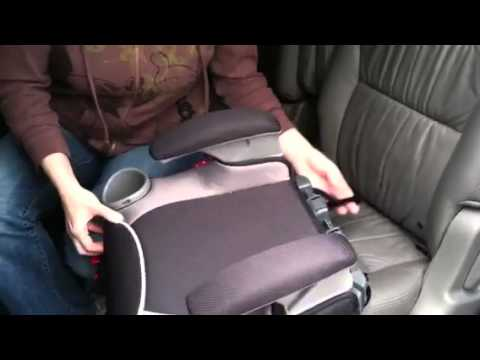 Graco Affix Review Booster LATCH Installation