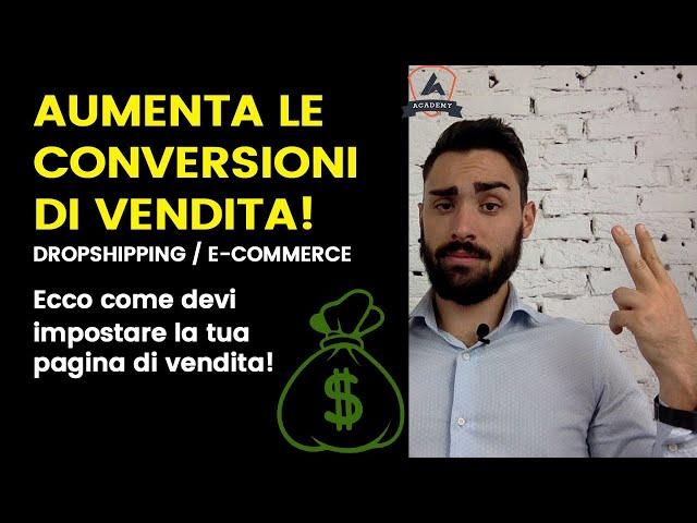 Come Vendere Online  per E-commerce, Shopify