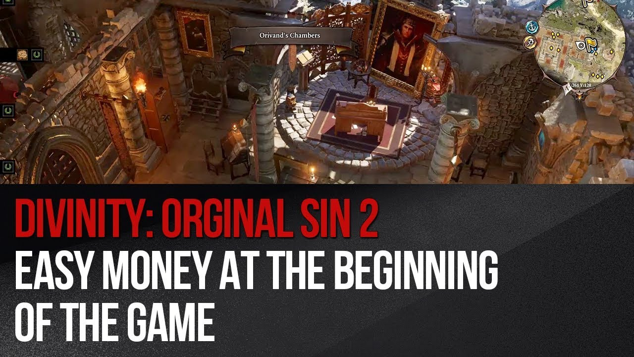 Divinity: Original Sin 2 - Easy money at the beginning of the game
