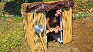 Download 24 Hours in DIY Apocalypse Survival Shelters!! *OVERNIGHT SURVIVAL* Mp3 and Videos