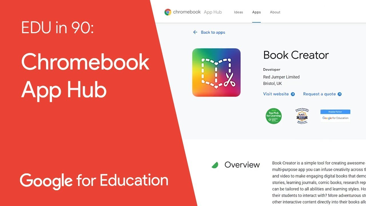 EDU in 90: Chromebook App Hub