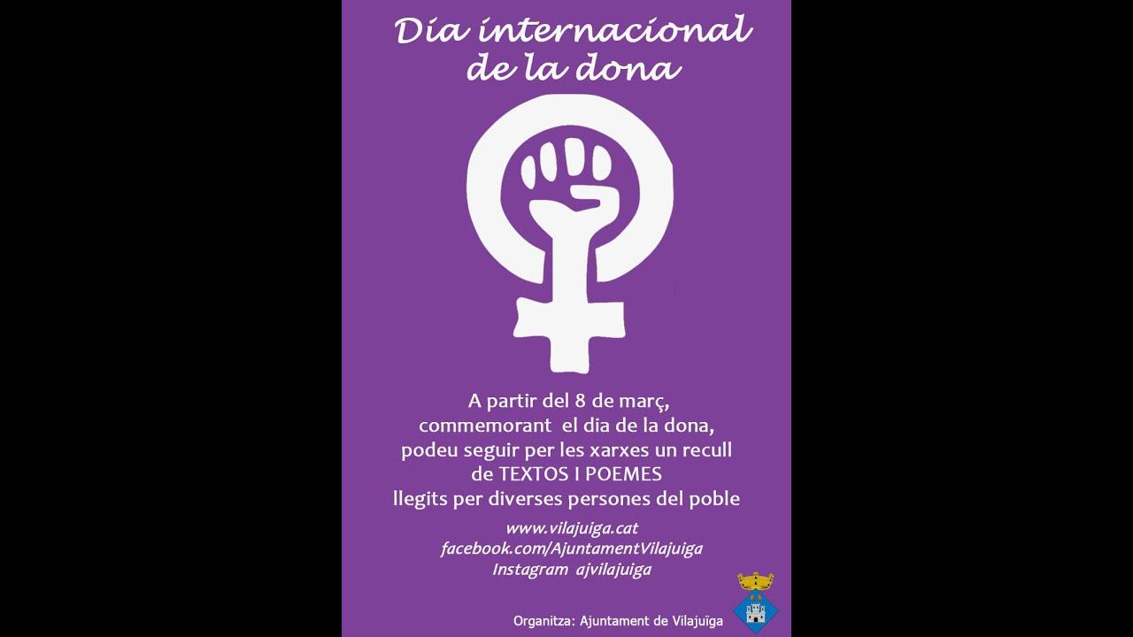 Lectura De Poemes Dia Internacional De La Dona 2021 Vilajuïga Youtube