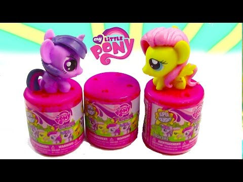 My Little Pony Fashem Mystery Surprise Blind Bag MLP Toy Opening REview Squishy Stretchy Fluttershy
