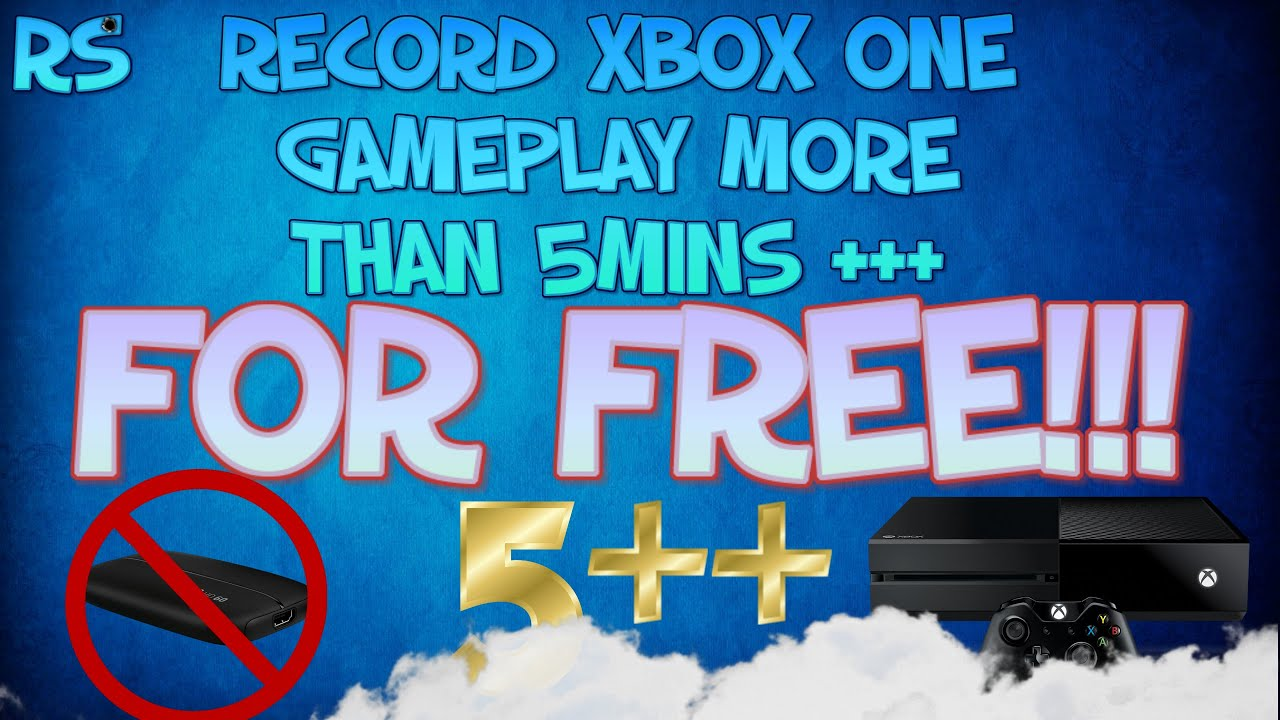 can you record more than 5 minutes on xbox one