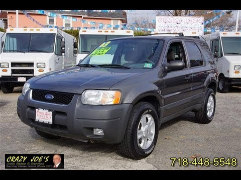 2003 ford escape xlt 4x4 youtube. Black Bedroom Furniture Sets. Home Design Ideas