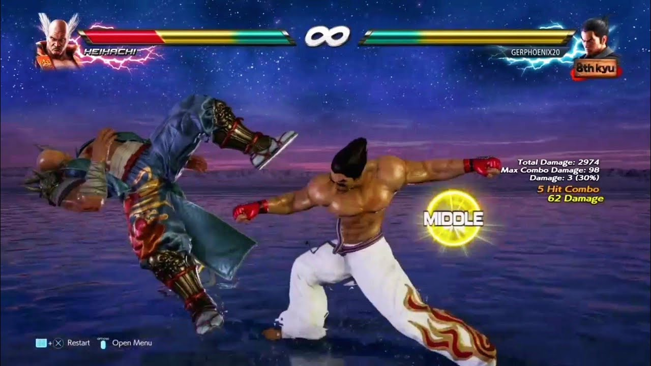Tekken 7 Choksae Kazuya Combo By Redpugilist