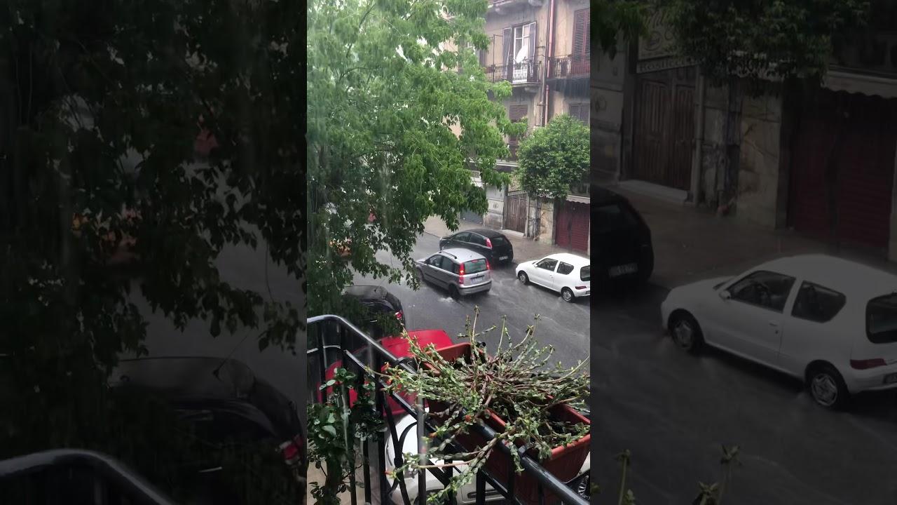 Alluvione Palermo - YouTube