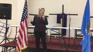 U.S. Rep. Horn speaks at town hall